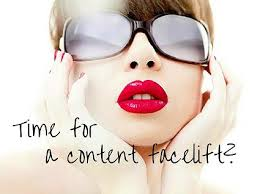 content development for website, content facelift for website